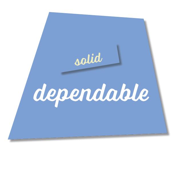 Blue Dependable