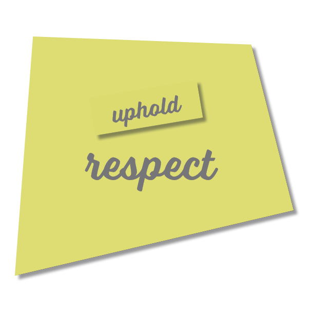 Yellow Green Respect