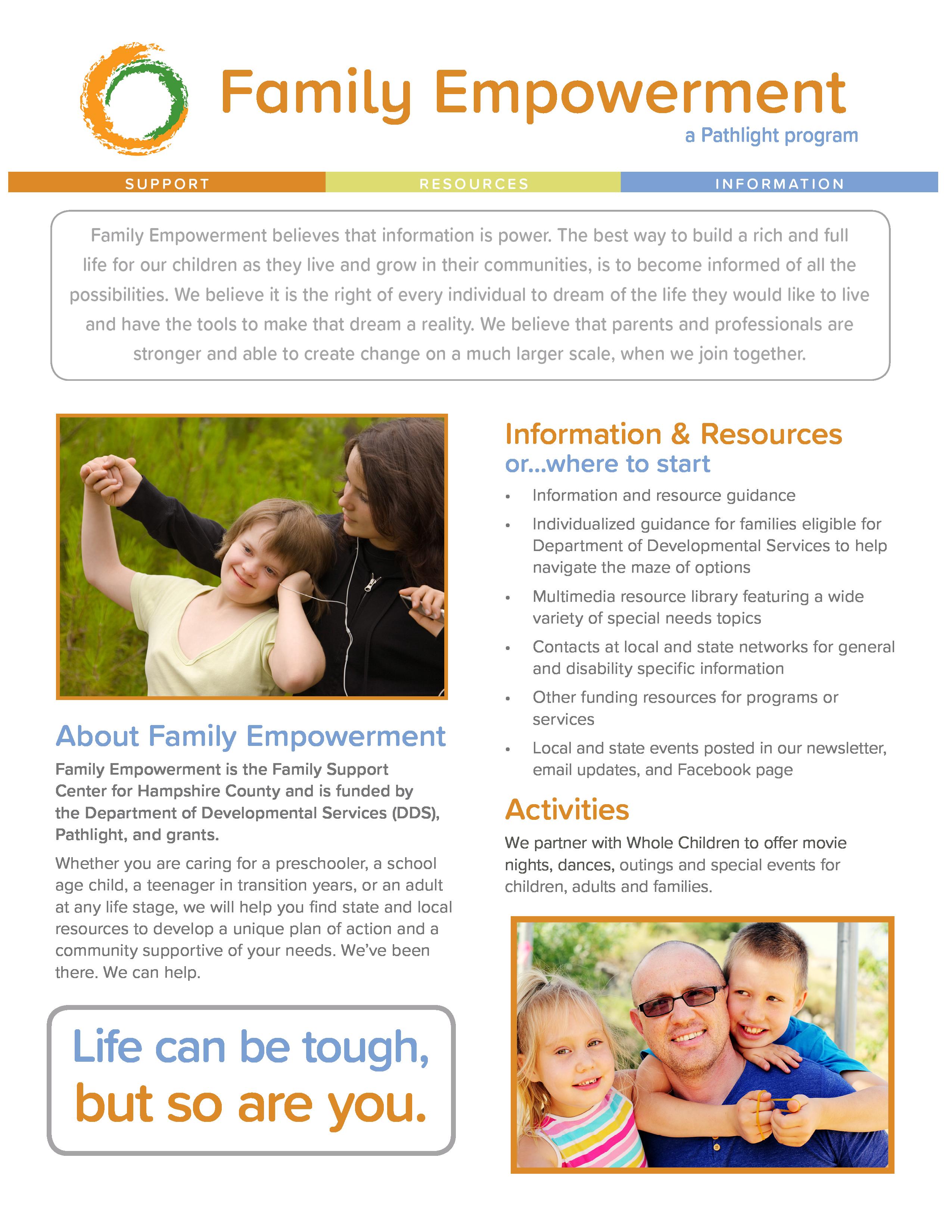 Family Empowerment flat thumbnail