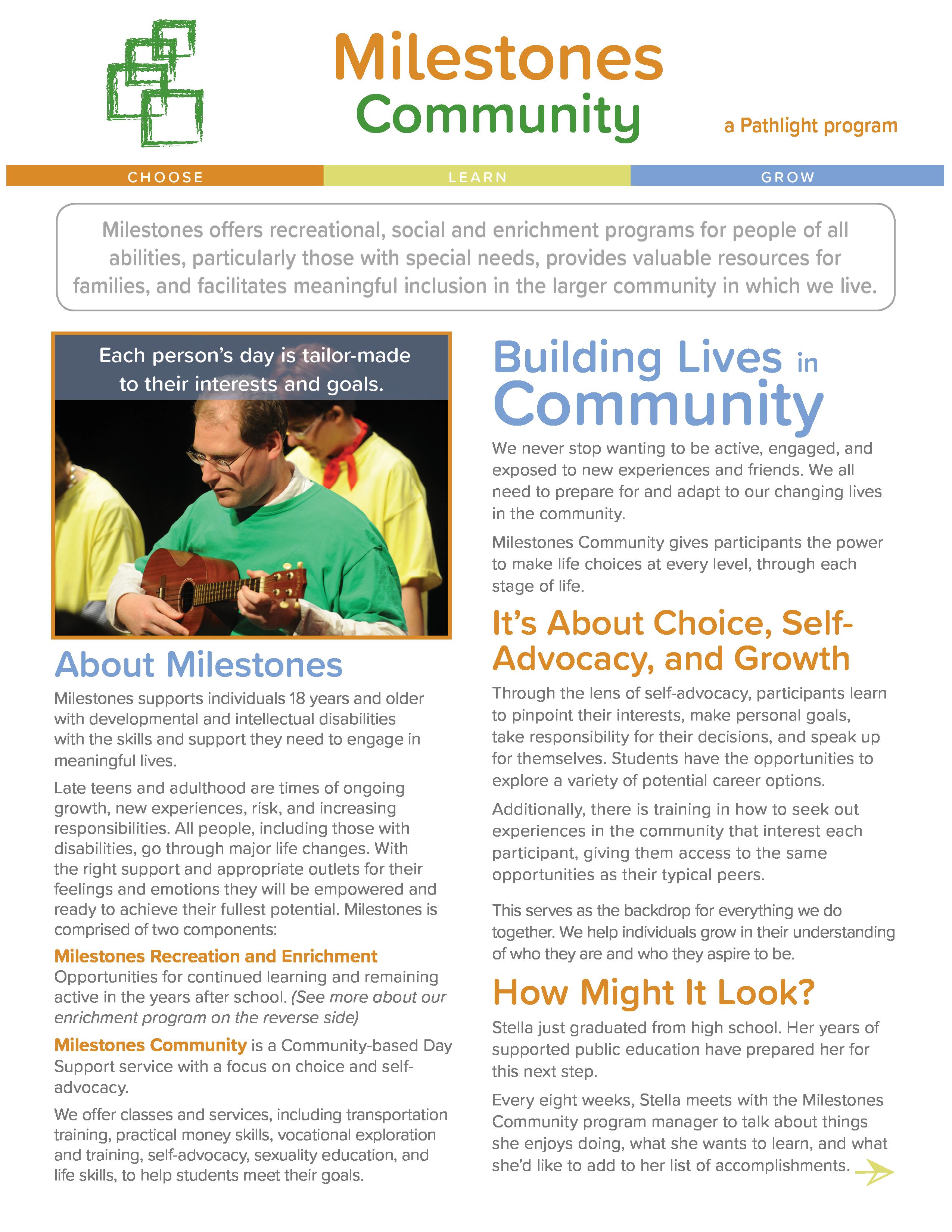 Milestones Community flat thumbnail
